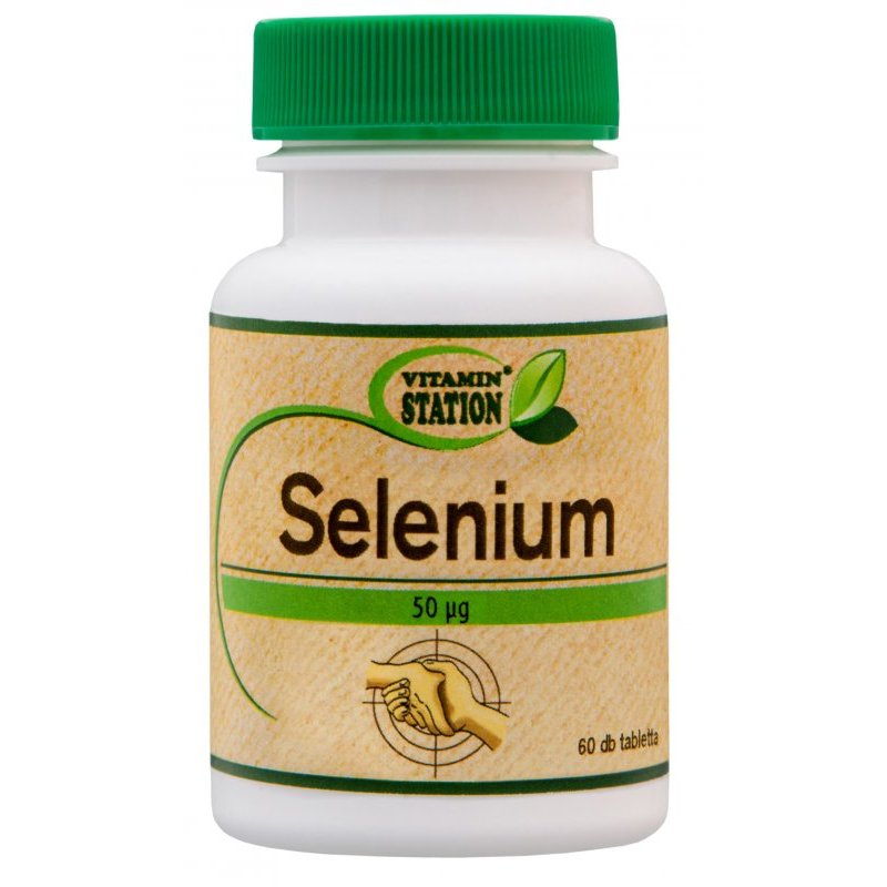 Vitamin Station Szelén tabletta - 60db