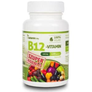 Netamin B12-vitamin tabletta (SZUPER kiszerelés) - 120db