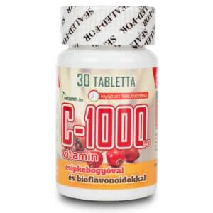 Netamin C-1000mg C-vitamin tabletta - 30db