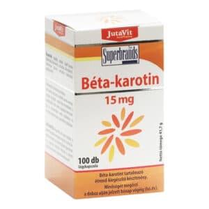 Jutavit Béta-Karotin lágyzselatin kapszula - 100db