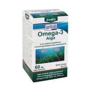 Jutavit Omega-3 Alga kapszula - 60db
