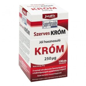 Jutavit Szerves Króm filmtabletta - 100db