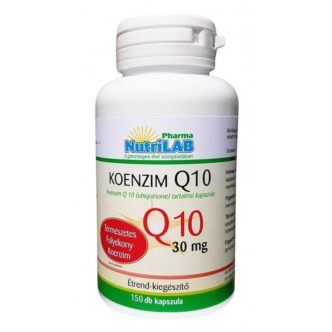Nutrilab Koenzim Q10 30mg kapszula - 150db