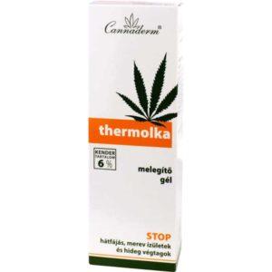 Cannaderm Thermolka Orvosi kender tartalmú fájdalomcsillapító krém - 200ml