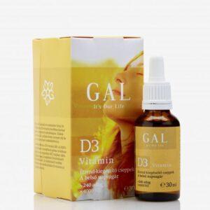 GAL D3-vitamin cseppek - 30ml