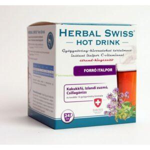 Herbal Swiss Hot Drink Instant forró italpor - 24db