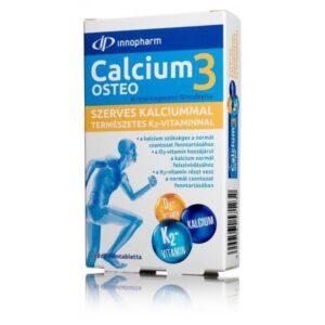 InnoPharm Calcium3 Osteo Szerves Kálciummal D3-K2 vitamin tabletta - 60db