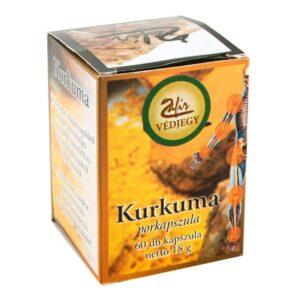 Zafir Kurkuma porkapszula - 60db