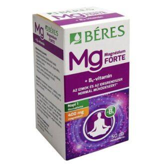 Béres Magnézium 400mg+B6-vitamin