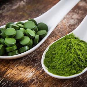 Chlorella és Spirulina