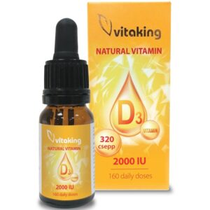 Vitaking D3-vitamin csepp - 10ml
