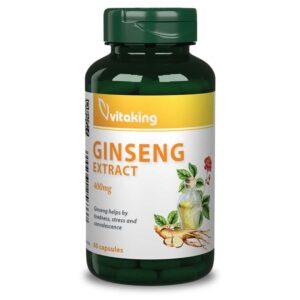 Vitaking Ginseng (ginzeng) 400mg kapszula - 60db