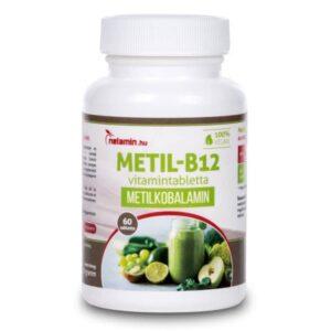 Netamin Metil B12-vitamin tabletta - 60db
