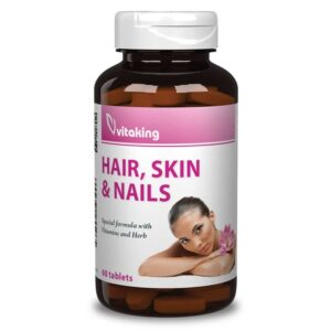 Vitaking Haj, bőr, köröm szépségvitamin tabletta - 60db