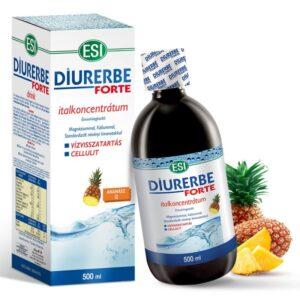 ESI Diurerbe Forte italkoncentrátum, ananász ízben – 500ml
