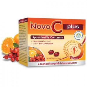 Novo C Plus liposzómális C-vitamin kapszula – 90db