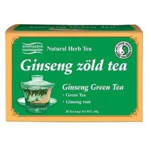 Dr. Chen Ginseng (Ginzeng) és Zöldtea keverék filteres - 20filter