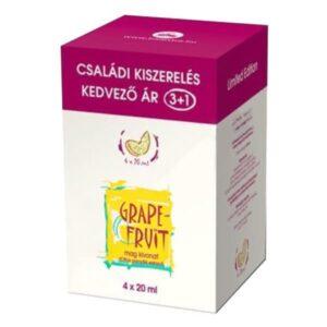 Bioextra Grapefruit mag kivonat csepp családi kiszerelés - 4x20ml