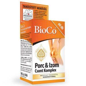 BioCo Porc & Izom Csont Komplex kondroitinnel tabletta - 60db