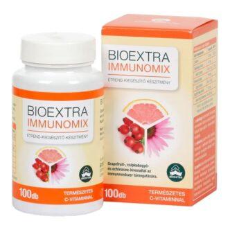 Bioextra Immunomix – grapefruit, echinacea és csipkebogyó kapszula - 100db