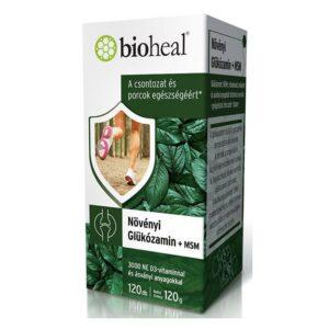 Bioheal Növényi Glükózamin + MSM filmtabletta – 120db