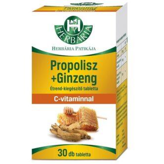 Herbária Propolisz+Ginzeng (Ginseng) tabletta - 30 db