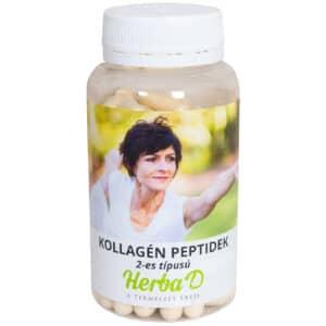 Herba-D II-es típusú kollagén peptid - 100db