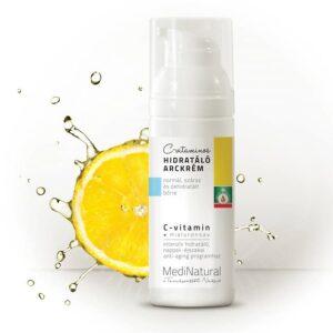 Medinatural C-vitaminos hidratáló arckrém – 50ml
