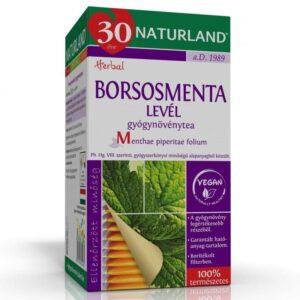Naturland borsmenta tea - 25 filter/doboz