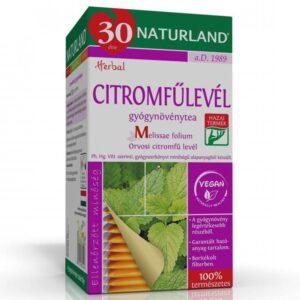 Naturland citromfűlevél tea - 25 filter/doboz