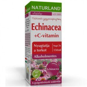 Naturland Echinacea + C-vitamin - 150ml