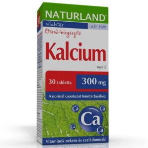 Naturland kalcium tabletta - 30db