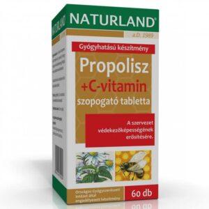 Naturland Propolisz + C-vitamin tabletta - 60db