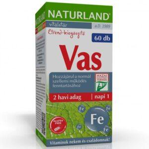 Naturland vas tabletta - 60db