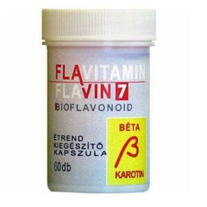 Flavin7-Flavitamin-Beta-Karotin-kapszula-60db