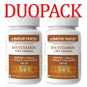 natur-tanya-szerves-d3k2-vitamin-tabletta-duopack-100db
