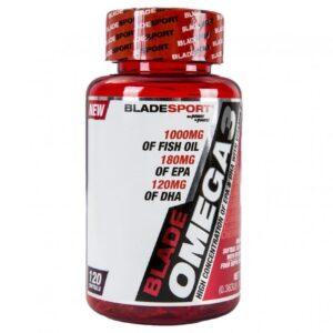 BladeSport Blade Omega 3 1000mg + E-vitamin kapszula - 120db