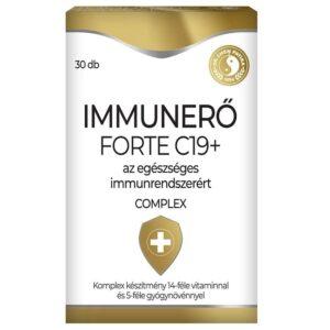 Dr. Chen Immunerő Forte C19+ tabletta - 30db