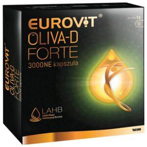 Eurovit Oliva-D Forte 3000NE kapszula – 60db