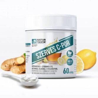 Natur Tanya Szerves C-vitamin por citromos 60 adag - 114g