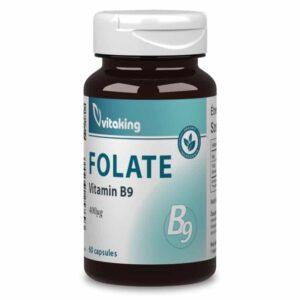 Vitaking Folate 400mcg kapszula - 60db