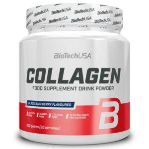 BioTech USA Collagen fekete málna - 300g