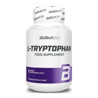 BioTech USA L-Tryptophan kapszula - 60db
