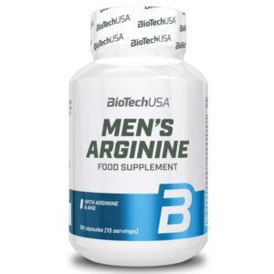 BioTech USA Men's Arginine kapszula - 90db