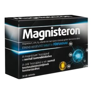 Magnisteron Magnézium tabletta férfiaknak - 30db