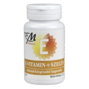 Dr. M Prémium E-vitamin+szelén kapszula - 60db