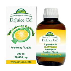 DrJuice Co. Liposzómás C-vitamin - 200ml