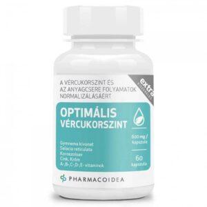Pharmacoidea Optimális vércukorszint Extra kapszula - 60db