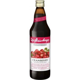 Dr. Steinberger Cranberry-tőzegáfonyalé - 750ml.jpg