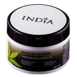India Hajmaszk kendermagolajjal - 200ml
